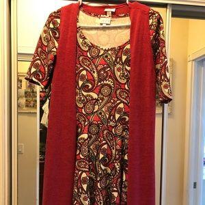 Lularoe Nicole dress&Joy